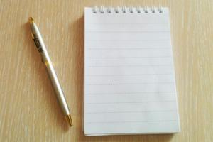 Pen and notes - Lebensmotto lustig ...
